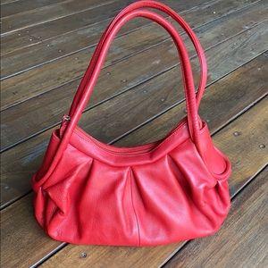 ORAN genuine leather handbag- retro style